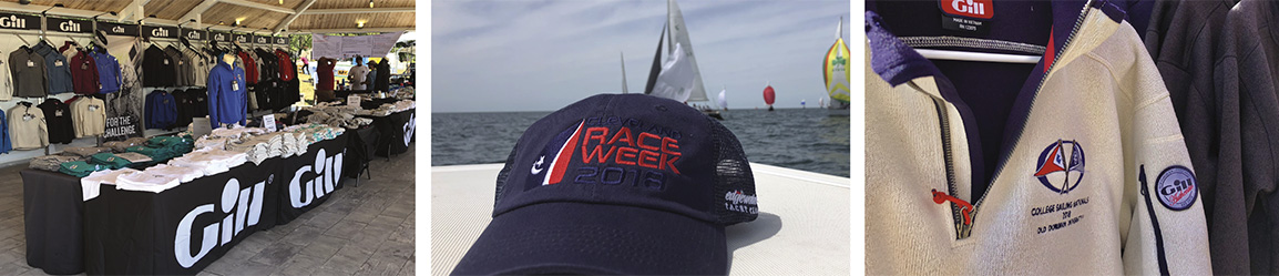 Coral Reef Sailing Apparel Samples